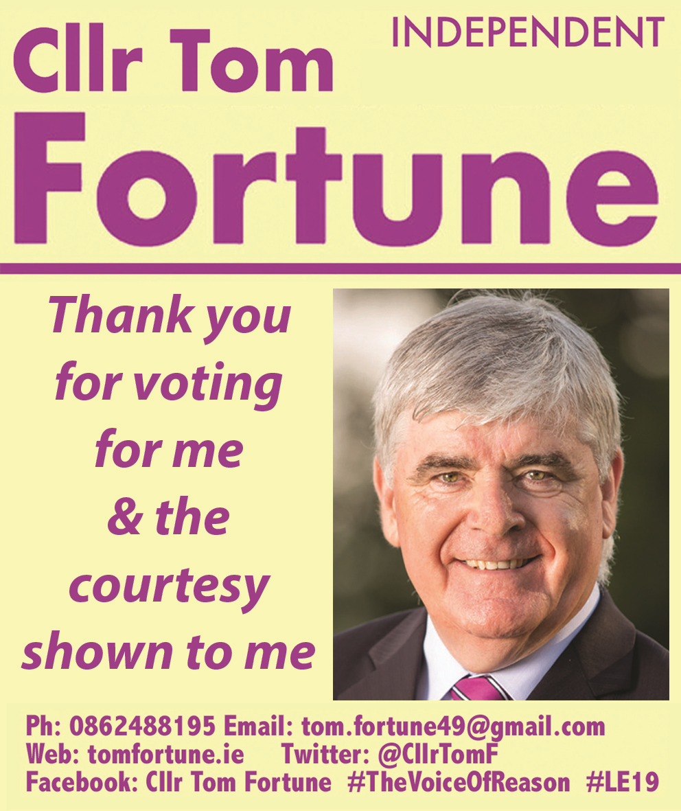 Independant Cllr. Tom Fortune
